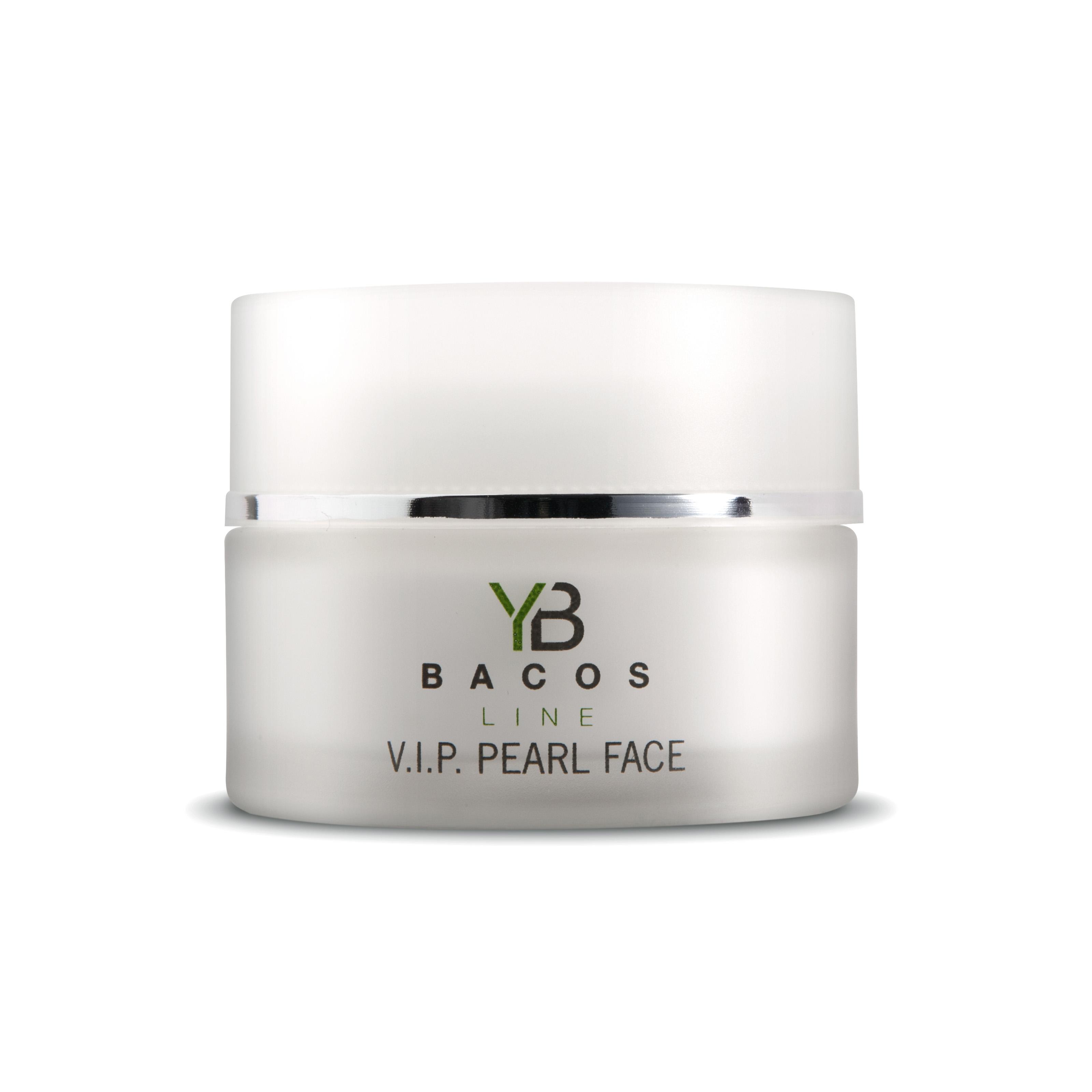 YB BACOS LINE V.I.P PEARL FACE CREAM - 50 ml